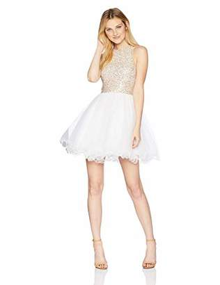 Speechless Sequin Lace Prom and Party Dress (Junior's)
