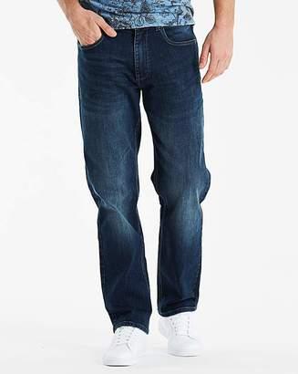 Vasko Straight Leg Jean 33 In