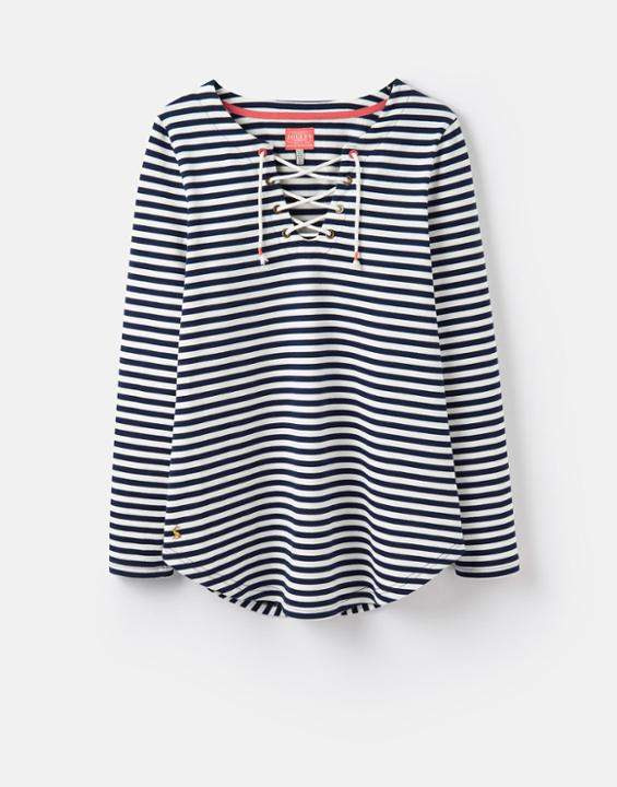 Lacey Vorn Geschnürtes Sweatshirt