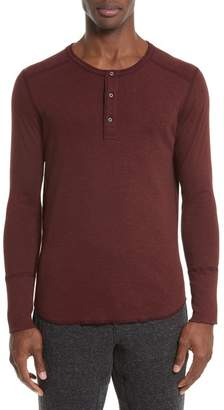 WINGS AND HORNS 'Base' Long Sleeve Henley