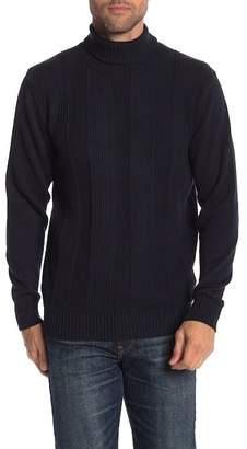 Weatherproof Textured Turtleneck Sweater
