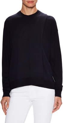 Celine Wool Asymmetric Wrapped Sweater