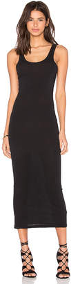 James Perse Long Slip Dress in Black $125 thestylecure.com