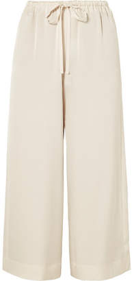Vince Satin Culottes - Cream