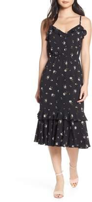 Ali & Jay Cloud Steps Floral Midi Dress