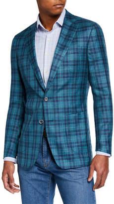 Peter Millar Men's Blyde Plaid Soft Sport Jacket