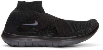 Nike Black Free RN Motion Sneakers