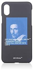 Off-White Bernini-Print iPhone® X Hard Case - Black
