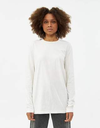 Need Long Sleeve Dye Tee in Ivory