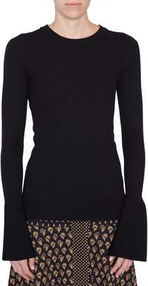 Proenza Schouler Silk Cashmere Crewneck Sweater