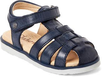 Naturino Toddler Boys) Blue Leather Sandals