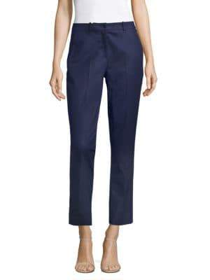Michael Kors Samantha Stretch Cotton Pants