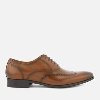 Dune Men's Perivale Leather Oxford Shoes - Brown