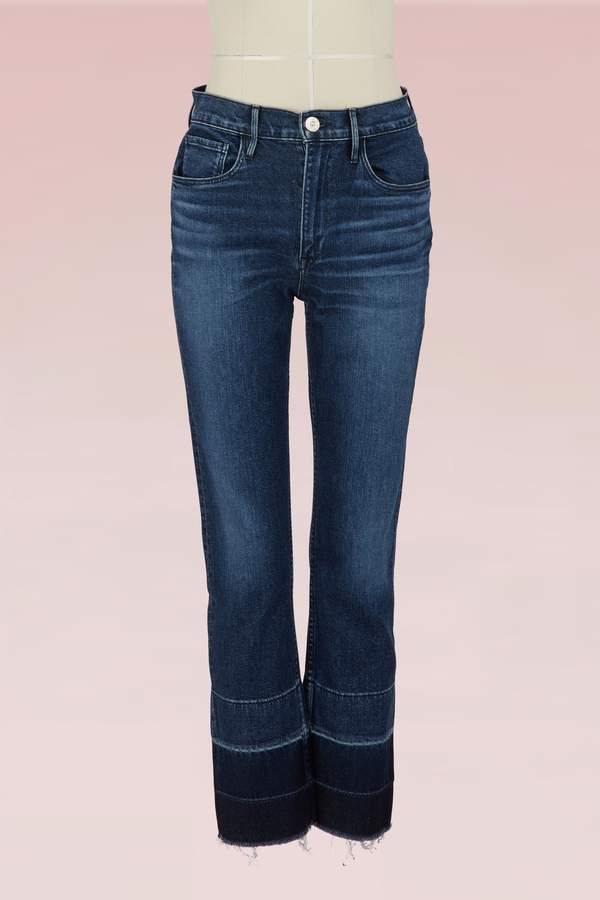3 X 1 W4 Shelter straight-cut cropped jeans