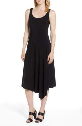Anne Klein Asymmetric Hem Midi Dress