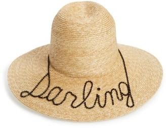 Women's Eugenia Kim Darling Straw Hat - Beige $465 thestylecure.com