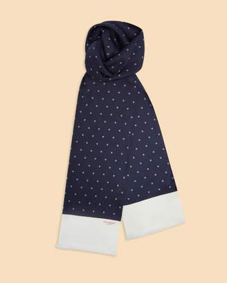 Ted Baker MULLUS Polka dot geo print silk scarf