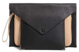 Maison Margiela Three-in-One Stacked Leather Pouches