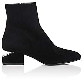 Alexander Wang Women's Kelly Suede Ankle Boots - Black