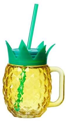 Global Amici Paradise Pineapple 18 oz. Mason Jar