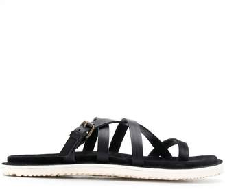 d62f49336d38 Toe Strap Leather Sandals For Men - ShopStyle UK