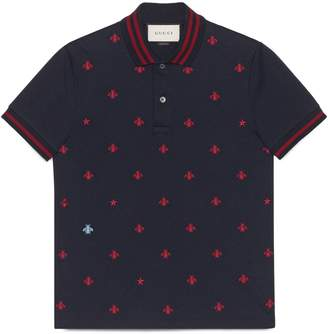 Cotton polo with bees and stars $670 thestylecure.com