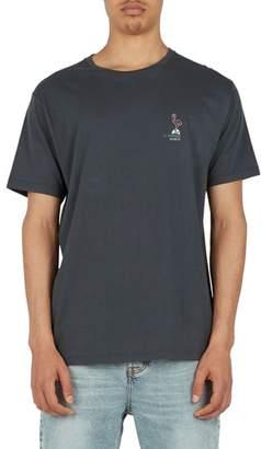 Barney Cools Flamingo Disco Graphic T-Shirt