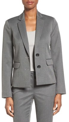 Ellen Tracy Twill Two-Button Jacket $149.50 thestylecure.com
