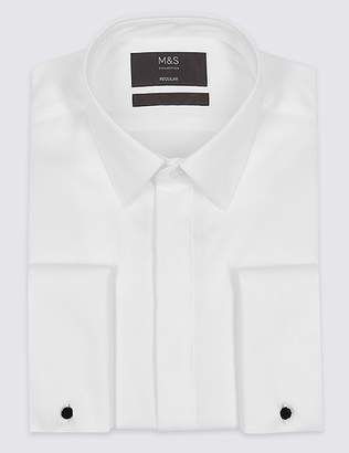 Marks and Spencer 2in Longer Regular Fit Dinner Shirt