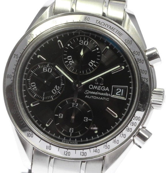 Omega Omega Speedmaster Date 3513.50 Stainless Steel Automatic 39mm Mens Watch