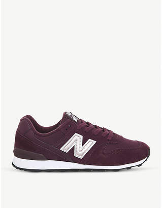 New Balance 996 suede and mesh trainers