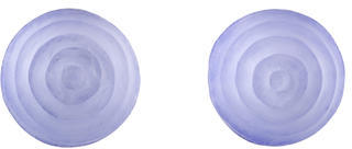 Alexis Bittar Carved Lucite Stud Earrings $45 thestylecure.com