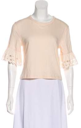 See by Chloe Flared Short Sleeve w/ Tags