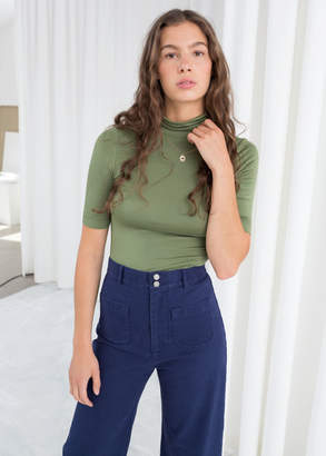 And other stories Short Sleeve Turtleneck