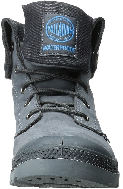 Palladium Baggy Leather Gusset Men's Lace-up Boots