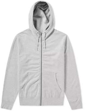 Save Khaki Supima Fleece Zip Hoody