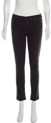 Michael Kors Wide-Leg Mid-Rise Pants