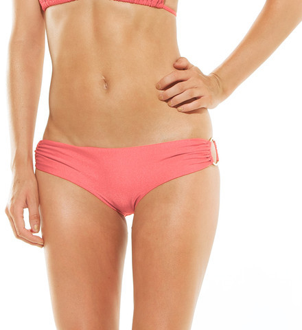 AVA Gold Ring Bottom Coral