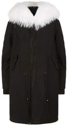 Mr & Mrs Italy Quilted Army Parka