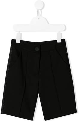 Pinko Kids button-front shorts