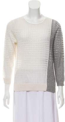 Magaschoni Silk-Cashmere Knit Sweater