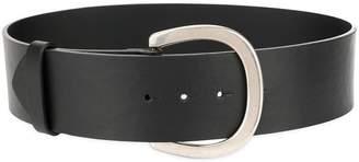Sonia Rykiel rounded buckled belt