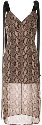 GOEN.J Vegas printed sleeveless dress
