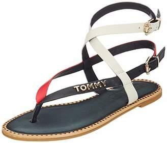 3c361d303 Tommy Hilfiger Women s Iconic Flat Strappy Sandal Flip Flops