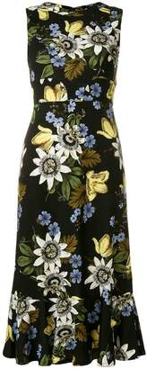 Erdem Varo Passion print Grazia dress