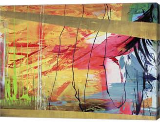 """Antigua Metaverse by Italo Corrado Canvas Art, 26.5"""" x 20"""""""