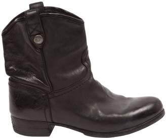 Alberto Fasciani Leather ankle boots
