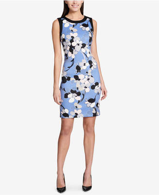 Tommy Hilfiger Floral-Printed Sheath Dress