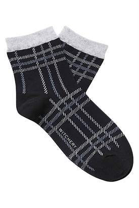 Witchery Check Quarter Crew Sock