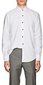 Lanvin Men's Cotton Dress Shirt-White
